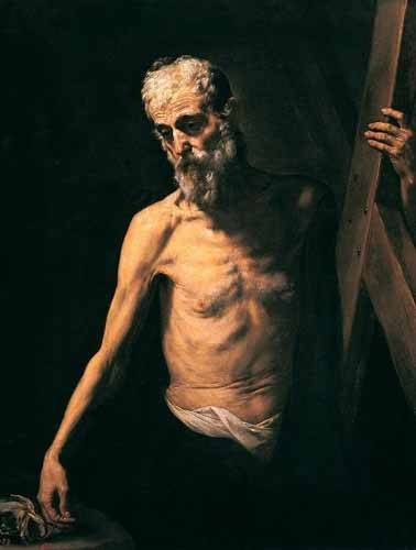religious paintings - Picture -San Andrés- - Ribera, Jose de