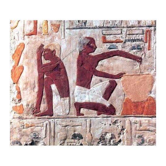 imagens étnicas e leste - Quadro -Elaboración del pan, 2500-2300 a.C.-