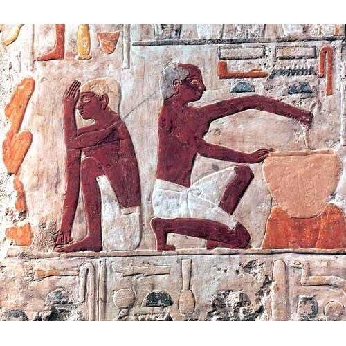 Cuadro -Elaboración del pan, 2500-2300 a.C.-