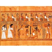 Cuadro -Libro de los muertos (de Ani): El Tribunal de los Dioses-