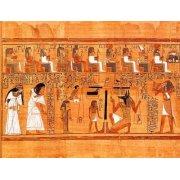 Quadro -Libro de los muertos (de Ani): El Tribunal de los Dioses-