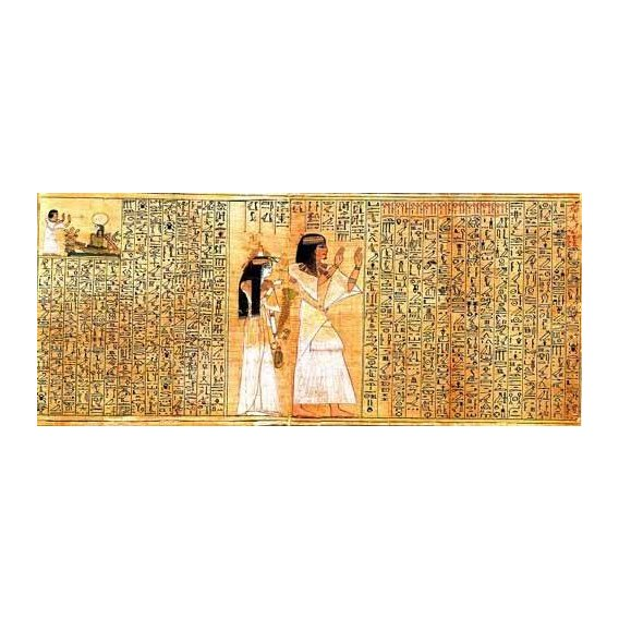 imagens étnicas e leste - Quadro -Libro de los muertos (de Ani): Osiris-