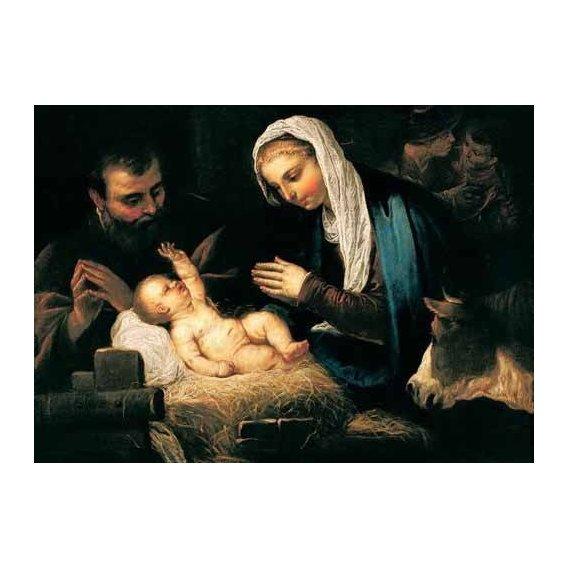 religious paintings - Picture -La Sagrada Familia-