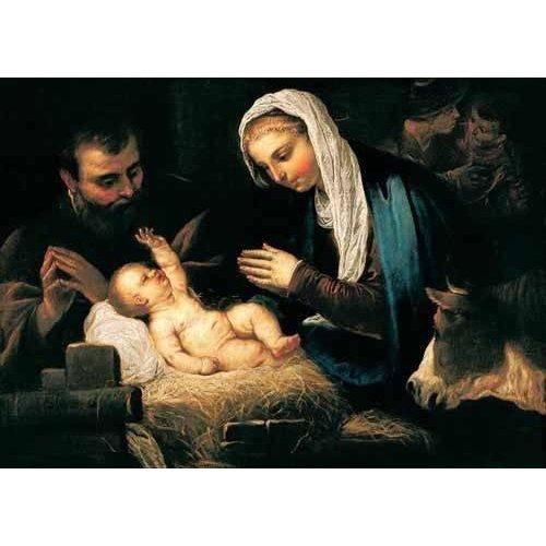 imagens religiosas - Quadro -La Sagrada Familia-