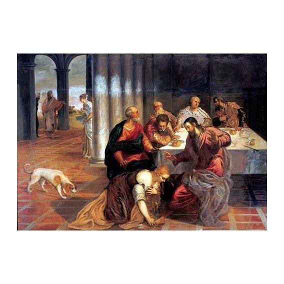 imagens religiosas - Quadro -La conversión de Magdalena-