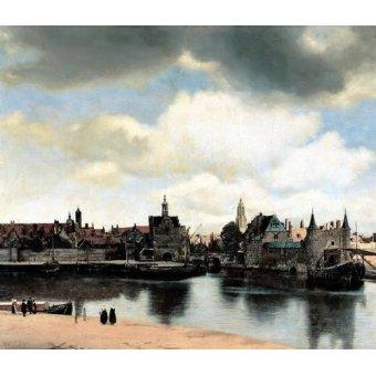 - Quadro -Vista de Delft- - Vermeer, Johannes