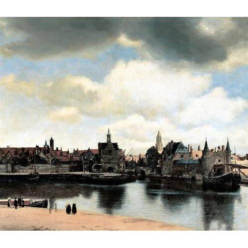 Quadro -Vista de Delft-
