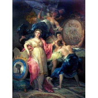 - Quadro -Alegoría de la Villa de Madrid- - Goya y Lucientes, Francisco de