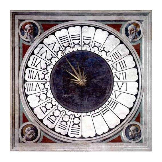 imagens religiosas - Quadro -Reloj Canónico-