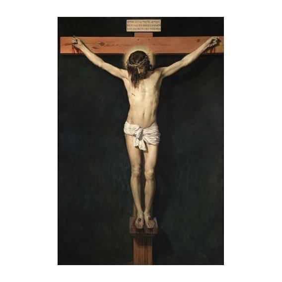 religious paintings - Picture -Cristo Crucificado-