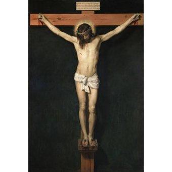 quadros religiosos - Quadro -Cristo Crucificado- - Velazquez, Diego de Silva