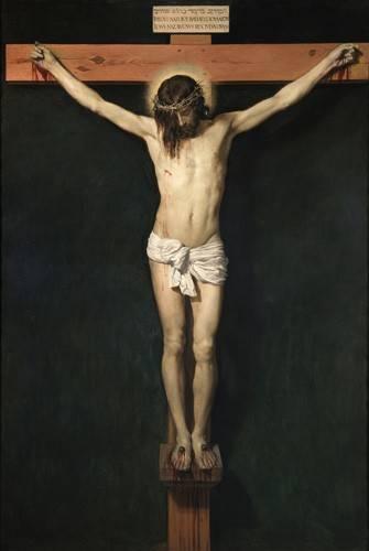 religious paintings - Picture -Cristo Crucificado- - Velazquez, Diego de Silva