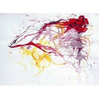 cuadros abstractos - Cuadro -Abstracto TH_020- - Herrador, Teresa