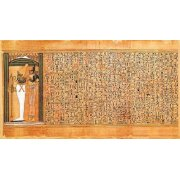 Picture -Libro de los muertos (de Ani): Osiris e Isis-