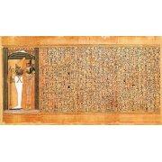 Quadro -Libro de los muertos (de Ani): Osiris e Isis-