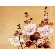 Quadro -Flores blancas-