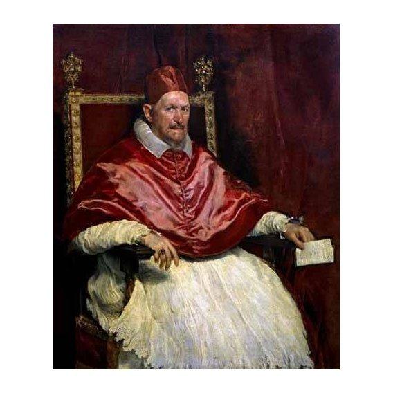 imagens religiosas - Quadro -Retrato del Papa Inocencio-