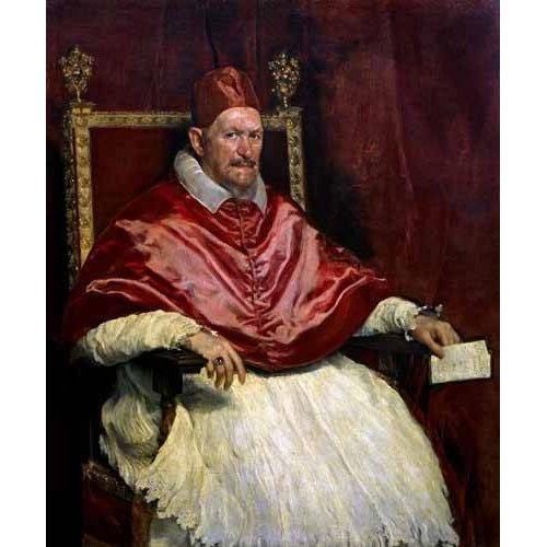 Cuadro -Retrato del Papa Inocencio-