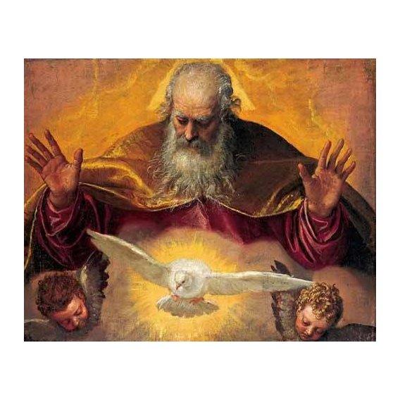 imagens religiosas - Quadro -El Padre Eterno-
