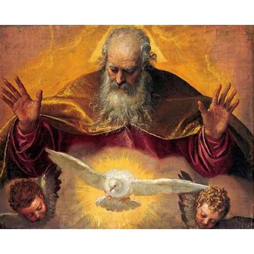 religious paintings - Picture -El Padre Eterno-