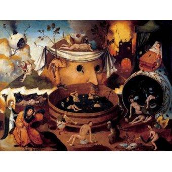 - Quadro -La vision de Tondal- - Bosco, El (Hieronymus Bosch)