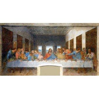 quadros religiosos - Quadro -A Última Ceia - - Vinci, Leonardo da