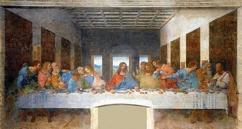 quadros-religiosos - Quadro -A Última Ceia - - Vinci, Leonardo da