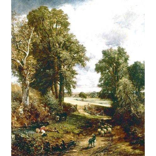 pinturas de paisagens - Quadro -El campo de maiz-