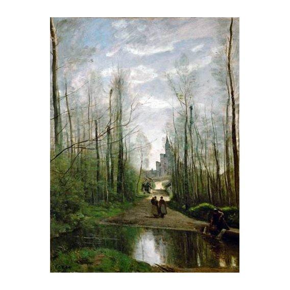 pinturas de paisagens - Quadro -L'église de Marissel-