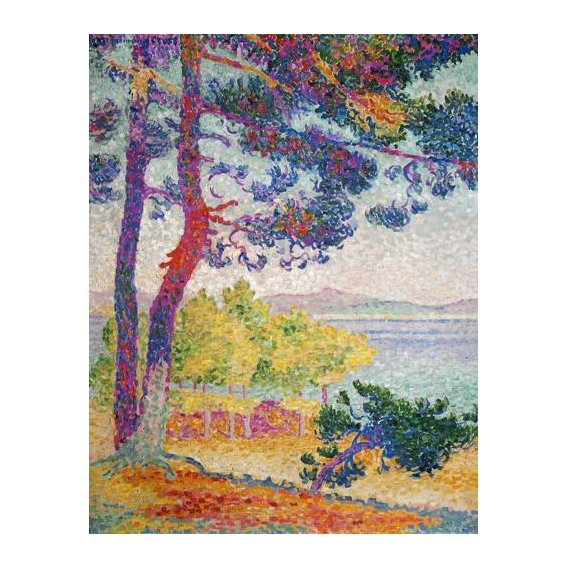 pinturas de paisagens - Quadro -Afternoon at Pardigon, 1907-