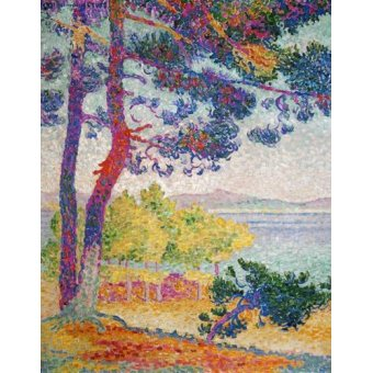 - Quadro -Afternoon at Pardigon, 1907- - Cross, Henri Edmond
