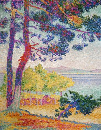 quadros-de-paisagens - Quadro -Afternoon at Pardigon, 1907- - Cross, Henri Edmond