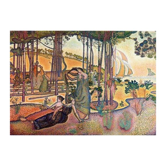 pinturas de paisagens - Quadro -L'Air du Soir-