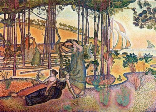 quadros-de-paisagens - Quadro -L'Air du Soir- - Cross, Henri Edmond