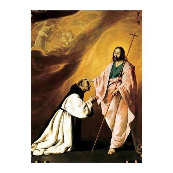 religious paintings - Picture -Aparición de Cristo al Padre Salmerón-