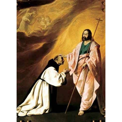 Picture -Aparición de Cristo al Padre Salmerón-
