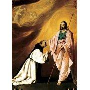 Cuadro -Aparición de Cristo al Padre Salmerón-