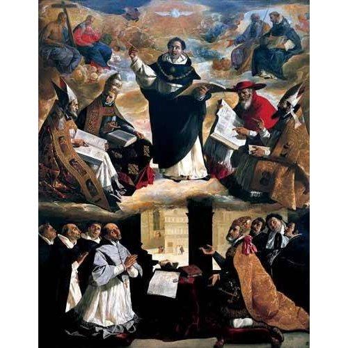 Picture -Apoteosis de Santo Tomás de Aquino-