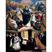 Quadro -Apoteosis de Santo Tomás de Aquino-