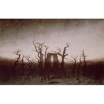 - Quadro -Abbey in the Oakwood, 1810- - Friedrich, Caspar David