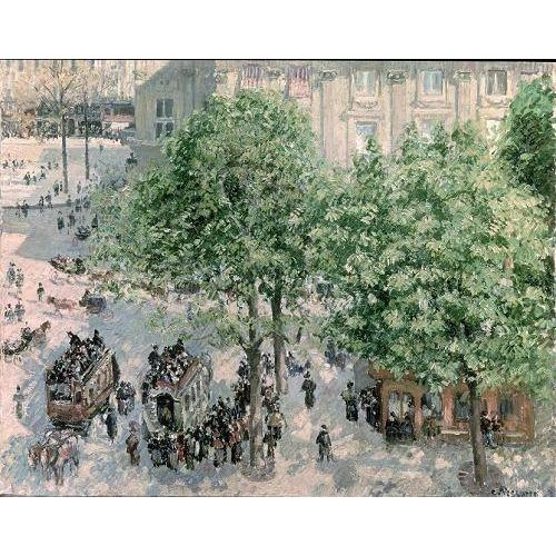 Quadro -Place du Theatre-Francais, Spring, 1898-