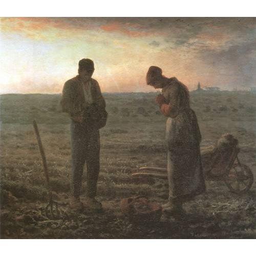 Quadro -El Angelus, 1857-1859-