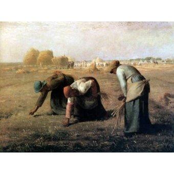 - Quadro -Des Glaneuses, 1857- - Millet, Jean François