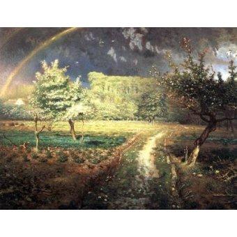 - Quadro -Le Printemps, 1868-1873- - Millet, Jean François
