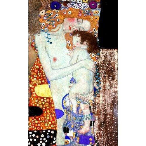 pinturas do retrato - Quadro -Las tres edades de la vida (detalle)-