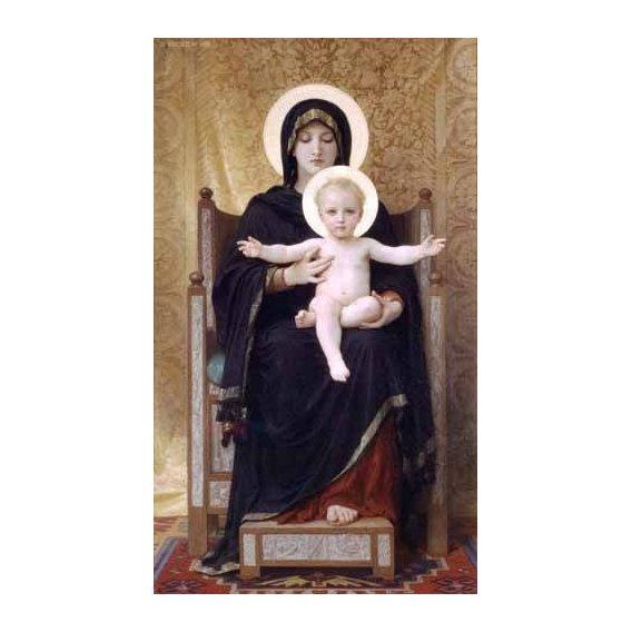 imagens religiosas - Quadro -La Virgen sentada-