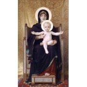 Quadro -La Virgen sentada-