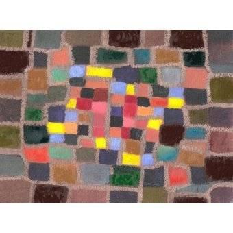 - Quadro -Abstracto _ Laberinto y desnivel (I)- - Molsan, E.