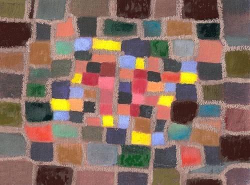 quadros-abstratos - Quadro -Abstracto _ Laberinto y desnivel (I)- - Molsan, E.