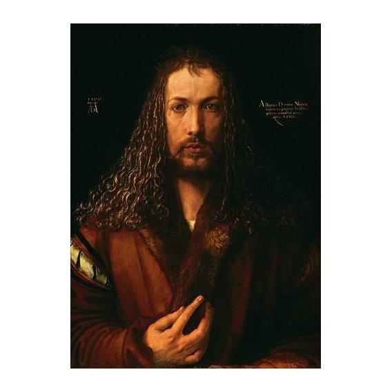 pinturas do retrato - Quadro -Autoretrato (II)-